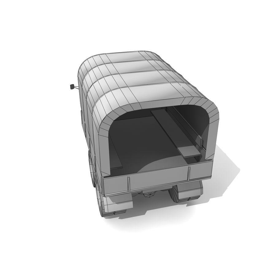 un camion royalty-free 3d model - Preview no. 11