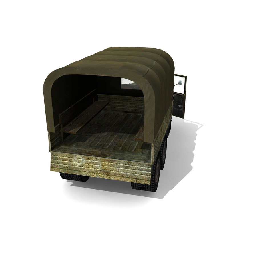 un camion royalty-free 3d model - Preview no. 8