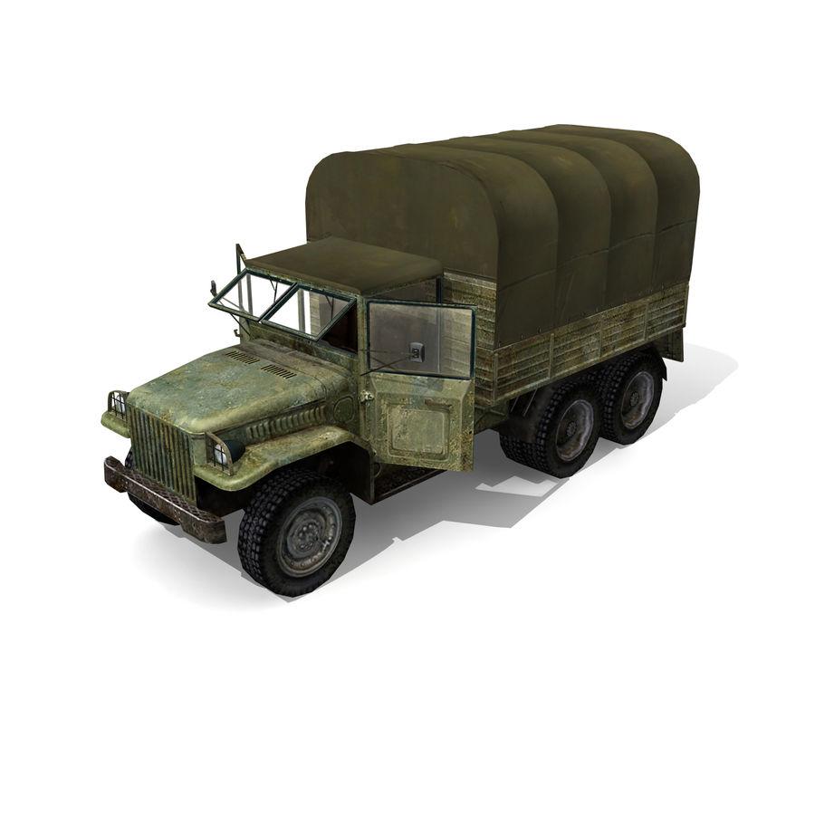 un camion royalty-free 3d model - Preview no. 2