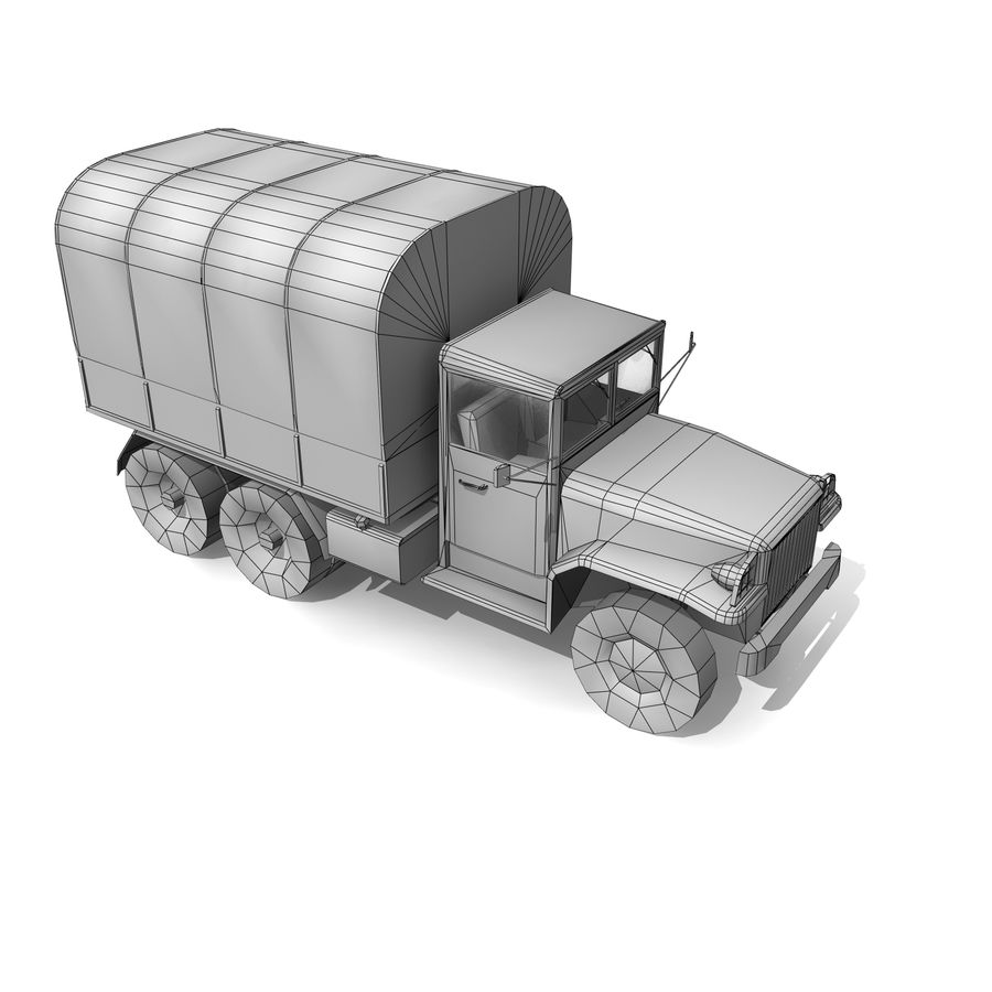 un camion royalty-free 3d model - Preview no. 13
