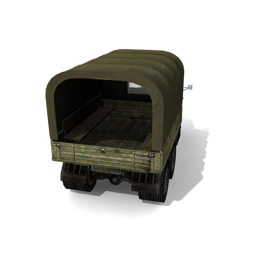 un camion royalty-free 3d model - Preview no. 7