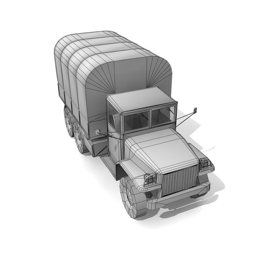 un camion royalty-free 3d model - Preview no. 12