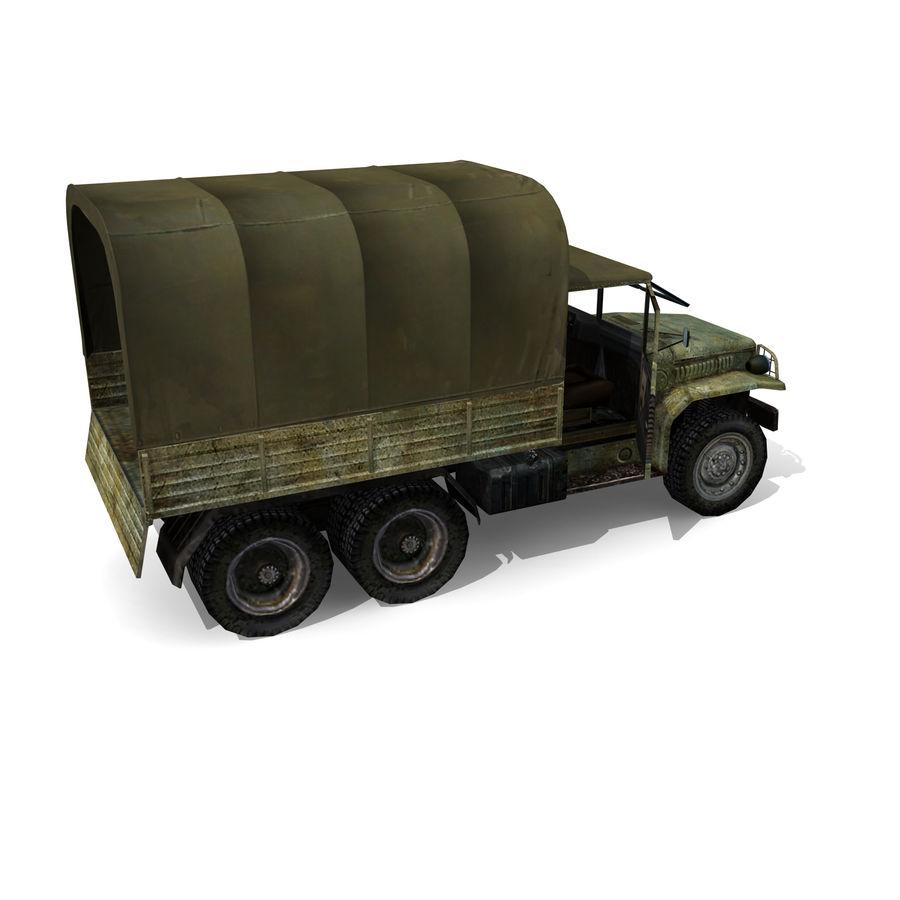 un camion royalty-free 3d model - Preview no. 6