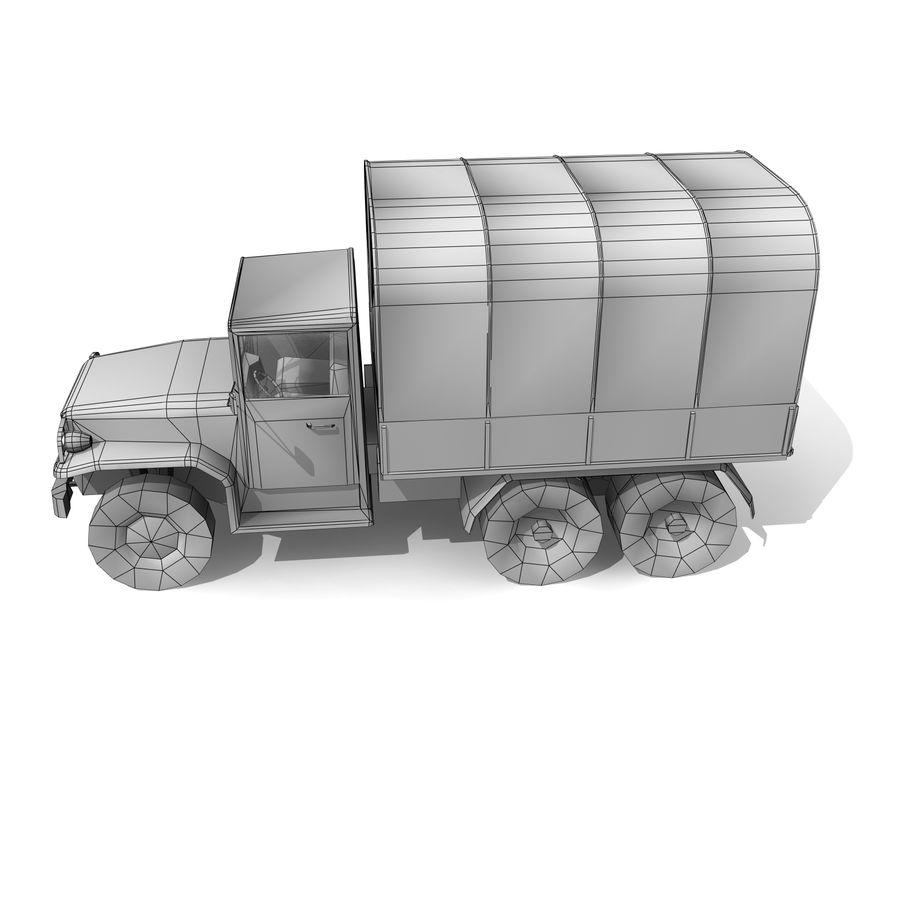 卡车 royalty-free 3d model - Preview no. 10