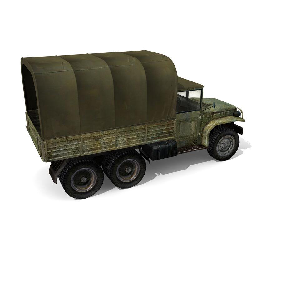 卡车 royalty-free 3d model - Preview no. 5