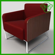 Lounge Chair 3 3d model