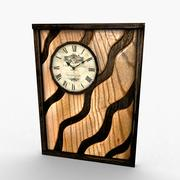 Solid Wall Clock Game-Ready 3d model