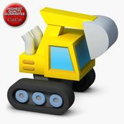 Icônes de construction 04 Pelle 1 3d model