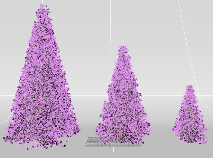 bush shrub royalty-free 3d model - Preview no. 4