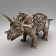 Triceratops animated 3d model