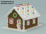 Casa de gengibre 3d model
