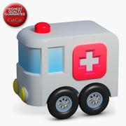 施工图标40救护车 3d model