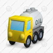 Construction Icons 09 Fuel Truck 3d model