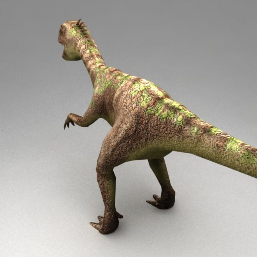 Raptor animated royalty-free 3d model - Preview no. 3