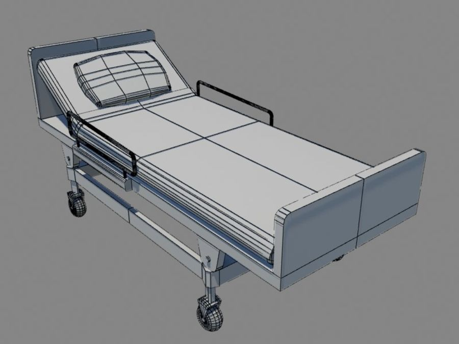 Scène de l'hôpital royalty-free 3d model - Preview no. 23