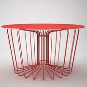 stolik z drutu 3d model