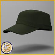 Cap2 do Exército 3d model