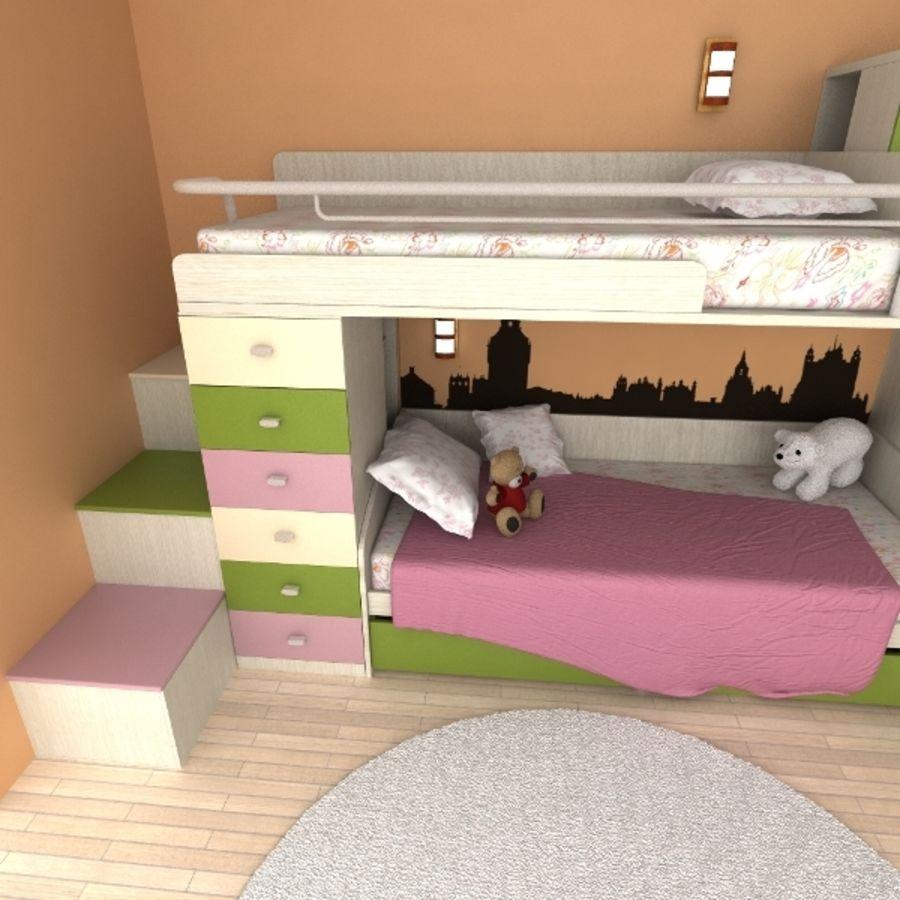 Ensemble de meubles de chambre à coucher pour enfants modèle ...