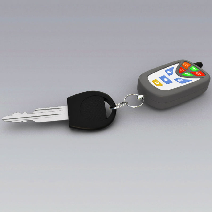 Remote Key Fobs Collection royalty-free 3d model - Preview no. 68