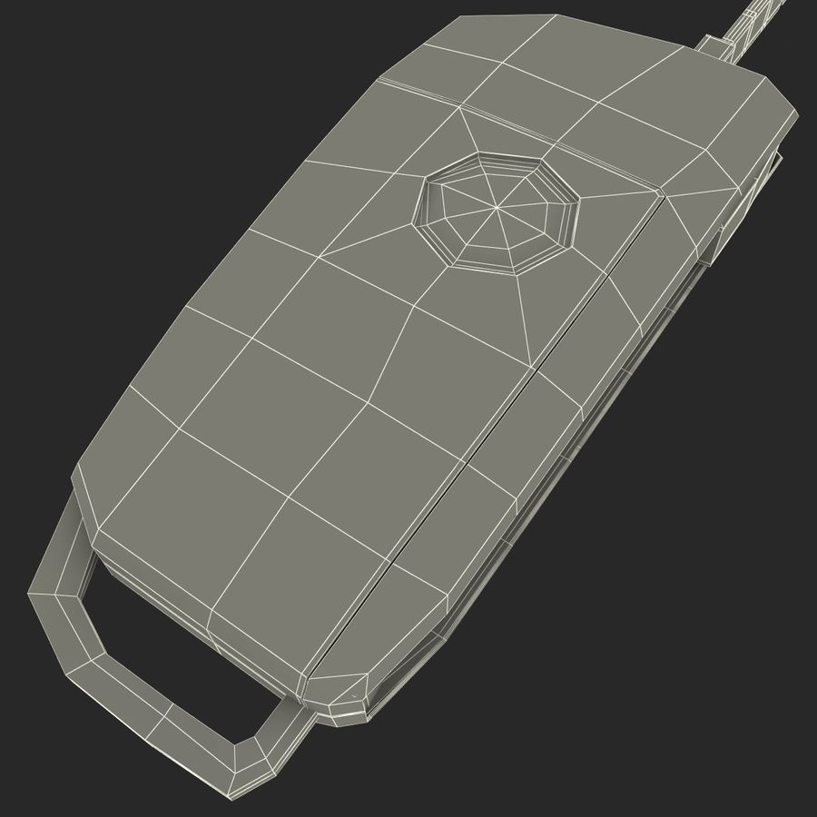 Remote Key Fobs Collection royalty-free 3d model - Preview no. 25