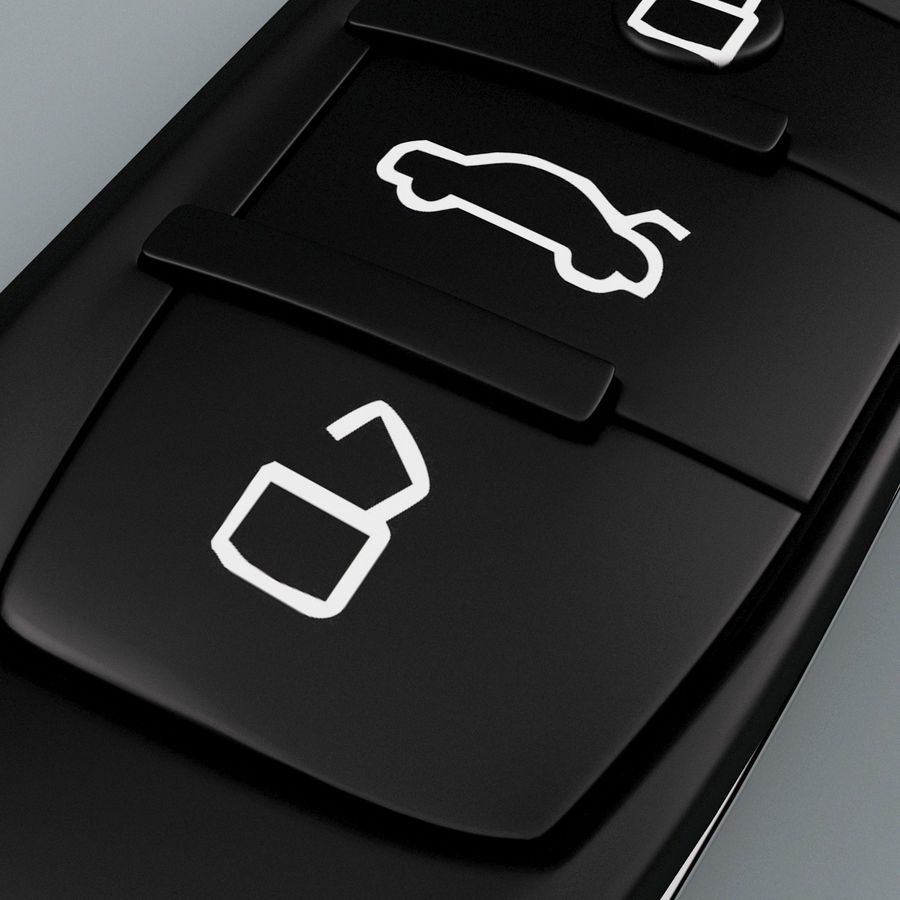 Remote Key Fobs Collection royalty-free 3d model - Preview no. 14
