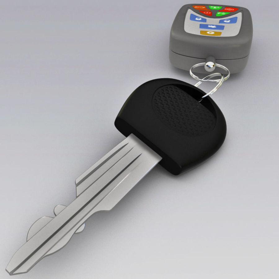 Remote Key Fobs Collection royalty-free 3d model - Preview no. 64
