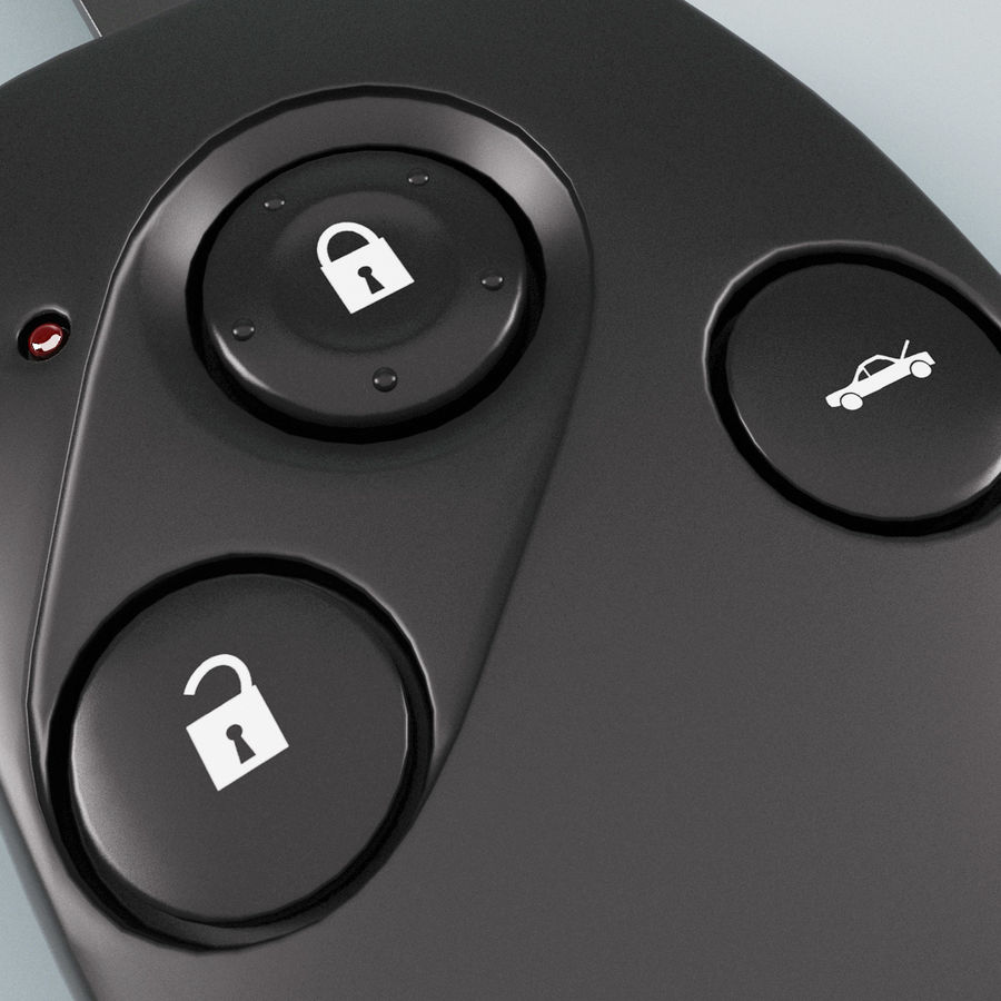 Remote Key Fobs Collection royalty-free 3d model - Preview no. 34
