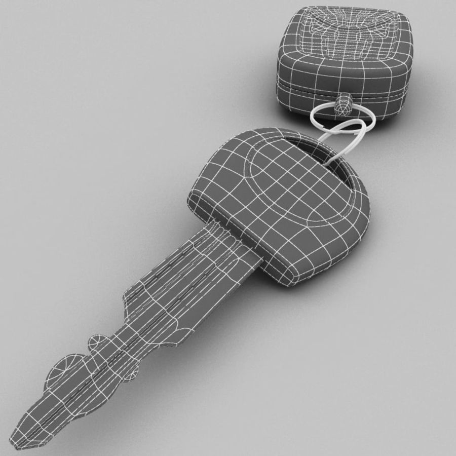 Remote Key Fobs Collection royalty-free 3d model - Preview no. 71