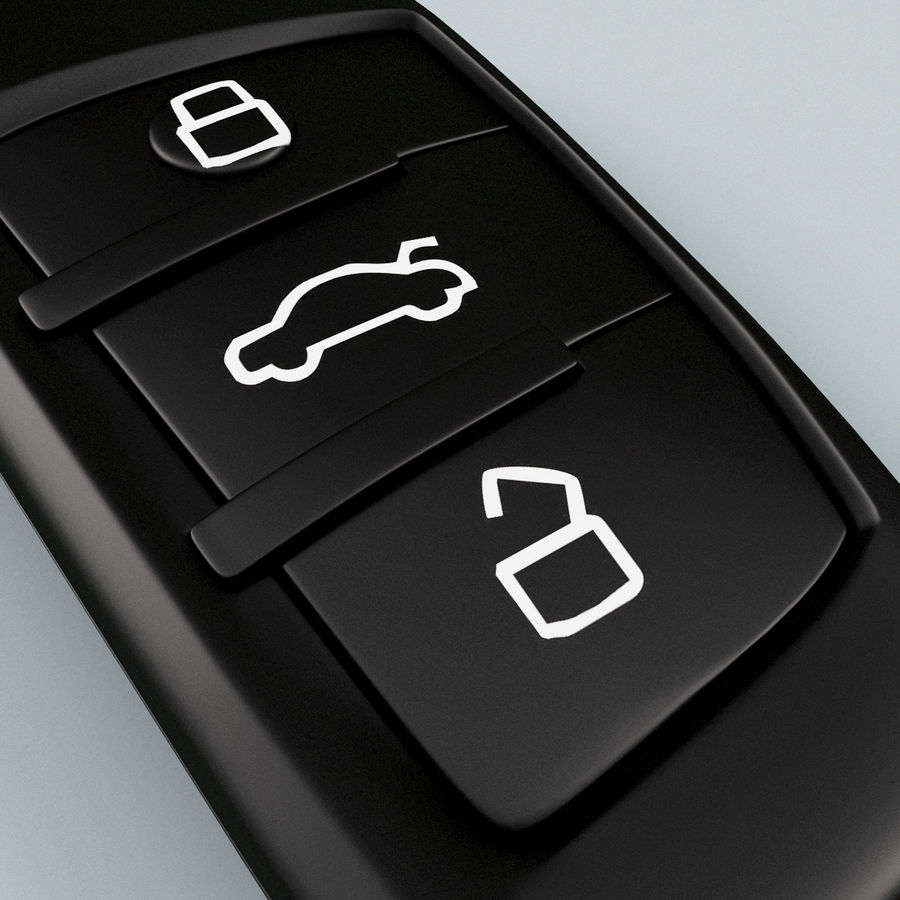 Remote Key Fobs Collection royalty-free 3d model - Preview no. 11