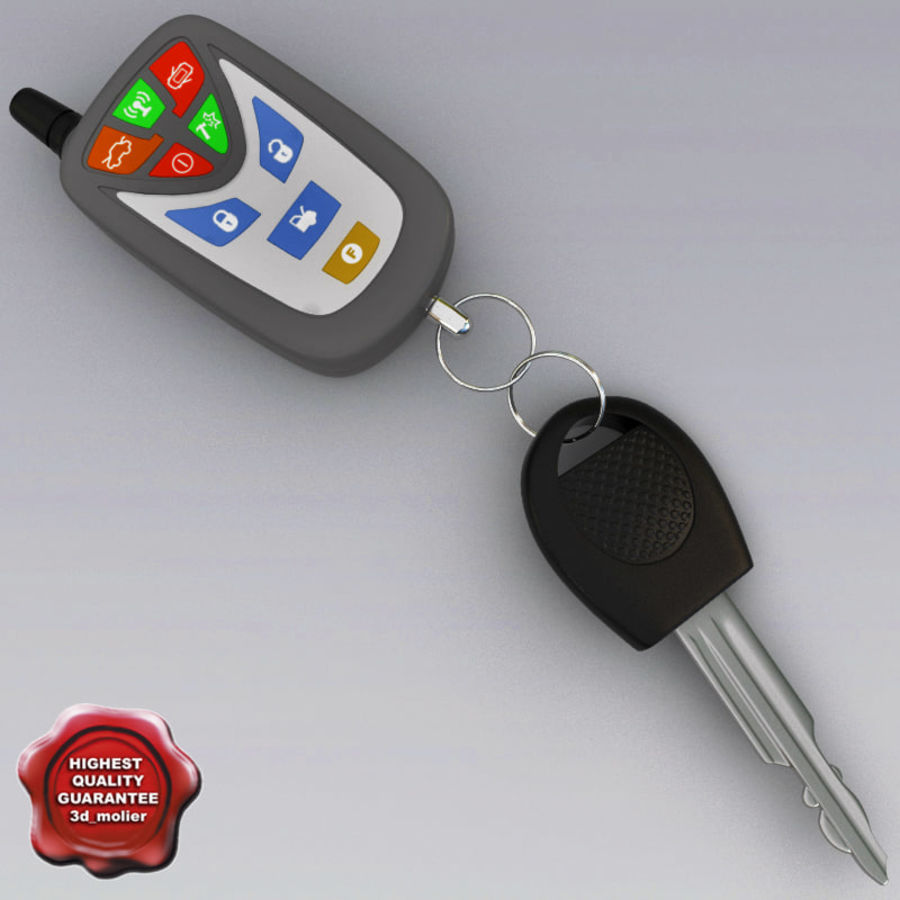Remote Key Fobs Collection royalty-free 3d model - Preview no. 63