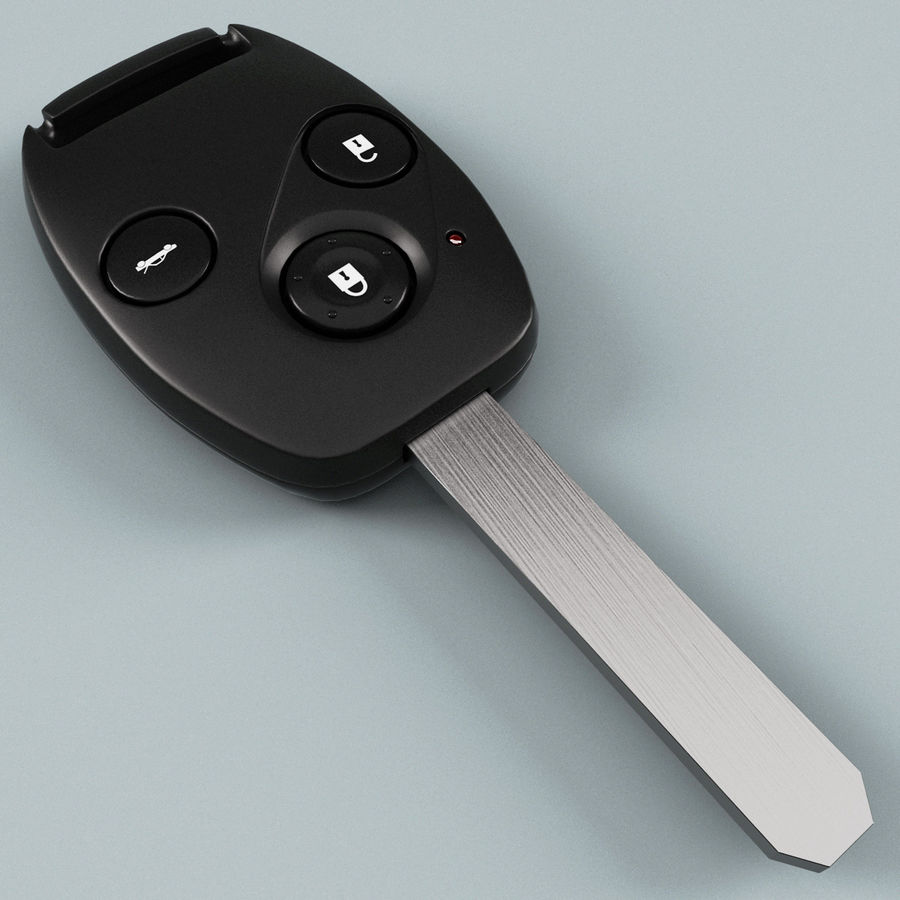 Remote Key Fobs Collection royalty-free 3d model - Preview no. 31