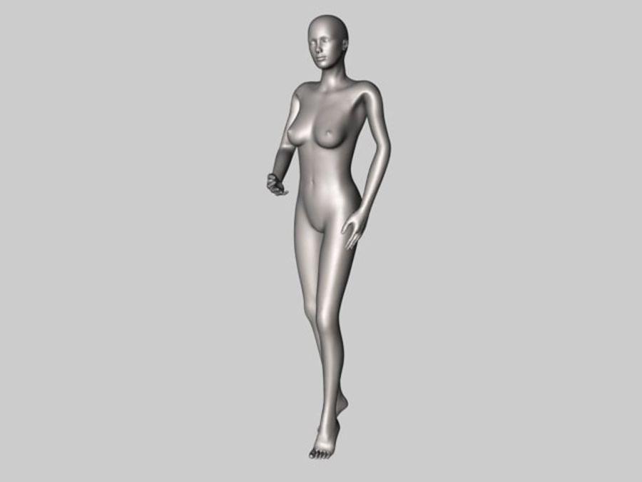 Женский манекен - манекен royalty-free 3d model - Preview no. 4