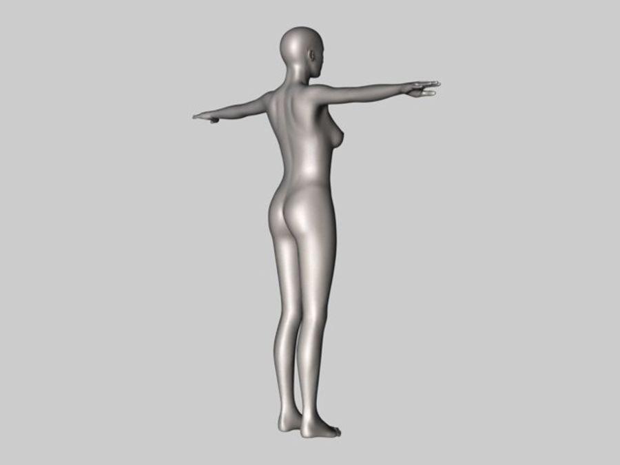 Женский манекен - манекен royalty-free 3d model - Preview no. 2