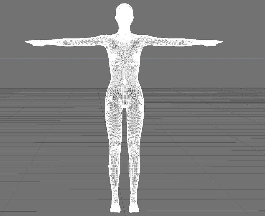 Женский манекен - манекен royalty-free 3d model - Preview no. 7