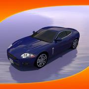 Voiture Jaguar XKR 3d model