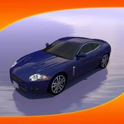 Araba Jaguar XKR 3d model