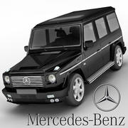Mercedes-Benz G-class Brabus G500 3d model