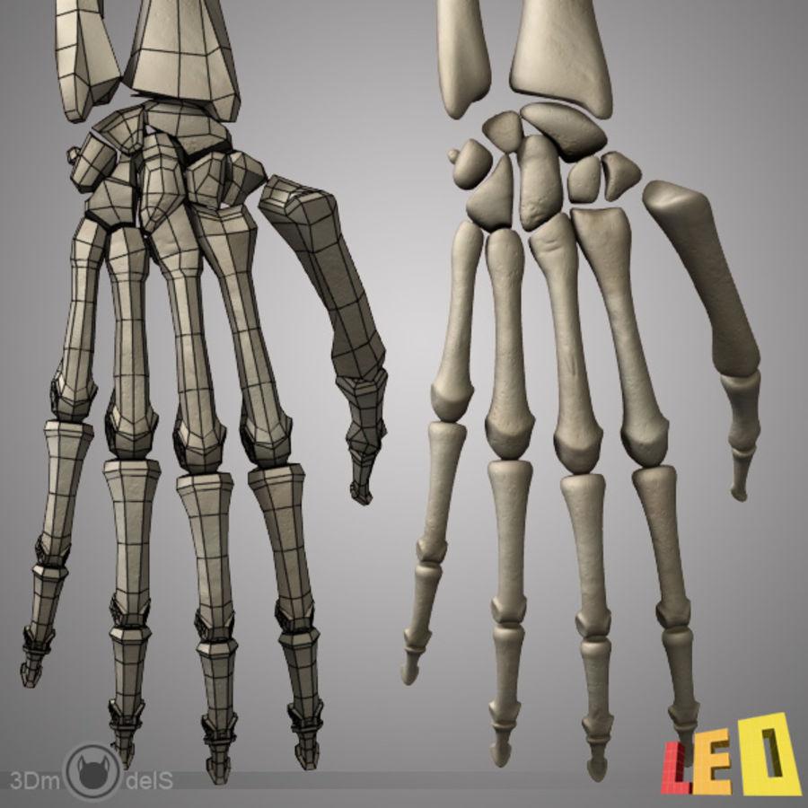 Human Arm Skeleton 2 in 1 3D Model $33 -  obj  ma  max  lwo  3ds