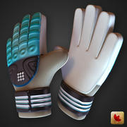 Goalkeeper Soccer Gloves 3d model