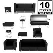 Kolekcja kanapy i siedzenia 3d model