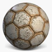 Football 3 Old Soccerball 3d model