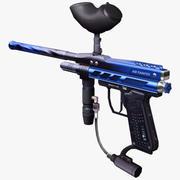 Пейнтбольное ружье 3d model