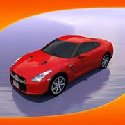 Car Nissan GT-R 3d model