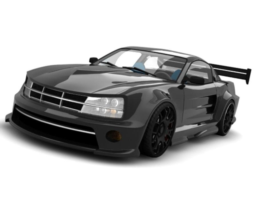 generic car 10 royalty-free 3d model - Preview no. 1