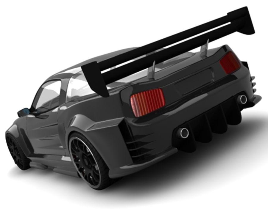 generic car 10 royalty-free 3d model - Preview no. 3