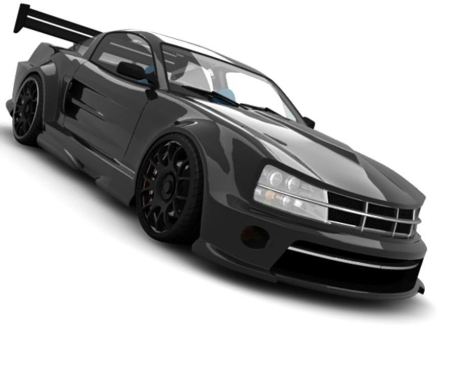 generic car 10 royalty-free 3d model - Preview no. 5