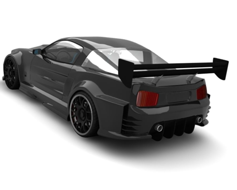 generic car 10 royalty-free 3d model - Preview no. 4