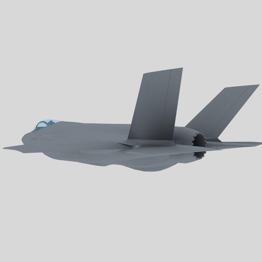 F-35A Lightning II USAF Stealth Fighter Game Model 3D