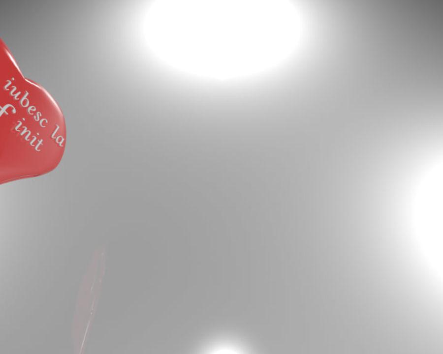 ハート3D royalty-free 3d model - Preview no. 1