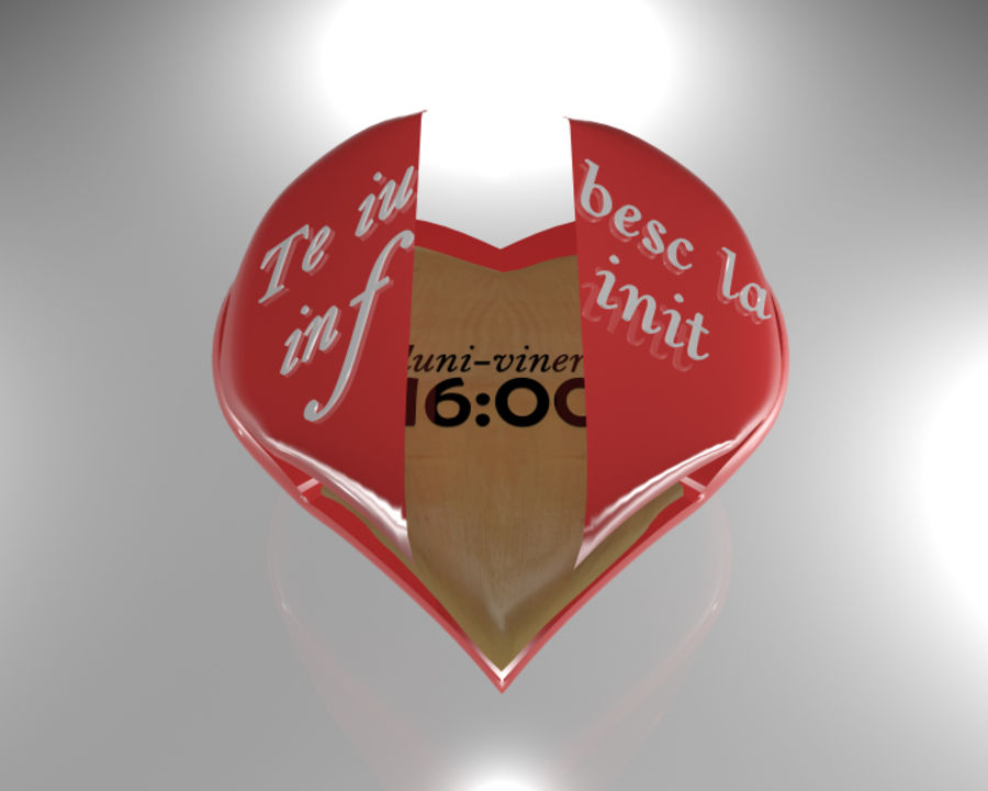 Heart 3D royalty-free 3d model - Preview no. 5